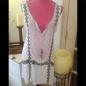 EUC Long top or short dress.
